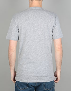 Vans Classic T-Shirt - Athletic Heather/Baltic