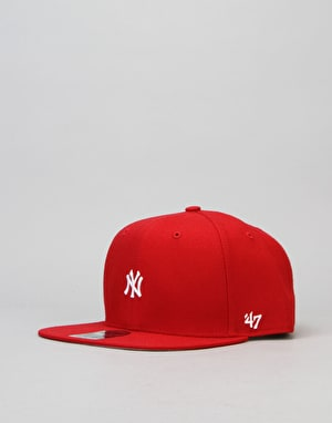 '47 Brand MLB New York Yankees Centrefield Snapback Cap - Red
