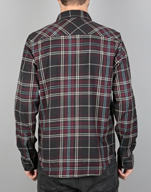 Element Hawkins LS Shirt - Flint Black