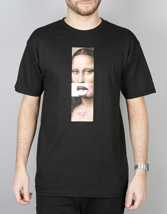 Acapulco Gold Mona Lisa S/S T-Shirt - Black