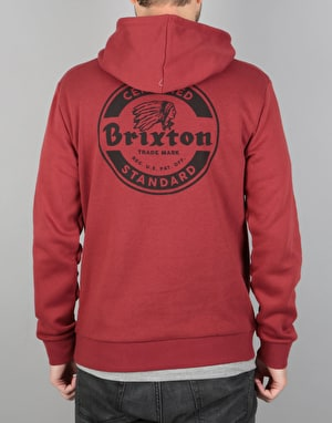 Brixton Soto Hooded Fleece - Burgundy