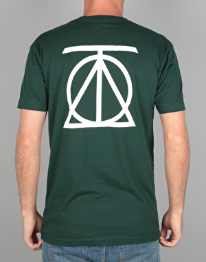 Theories Crest T-Shirt - Forest Green