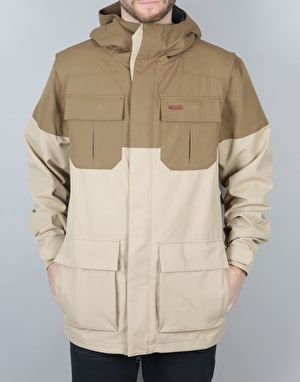 Volcom Alternative 2017 Snowboard Jacket - Khaki