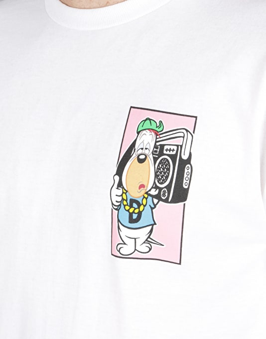 Almost Droopy Boom Box T-Shirt - White