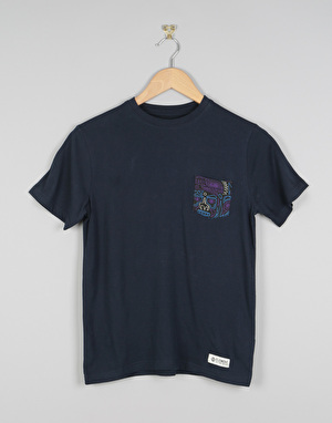 Element Miller Boys Pocket T-Shirt - Eclipse Navy
