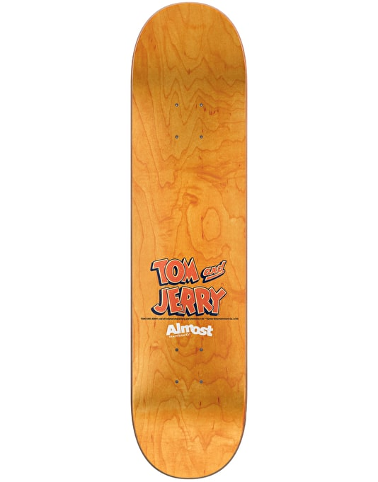 Almost x Hanna-Barbera Daewon Tom & Jerry Skateboard Deck - 8.25""