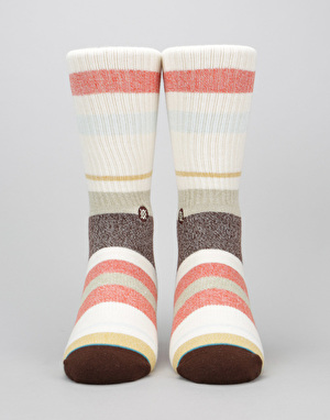 Stance Topanga Classic Light Socks - Red