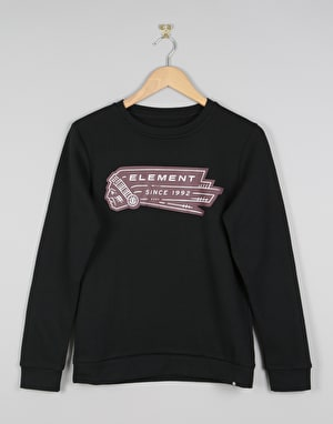 Element Indiana Boys Sweatshirt - Flint Black
