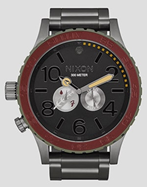 Nixon 51-30 Watch - Boba Fett Red/Grey
