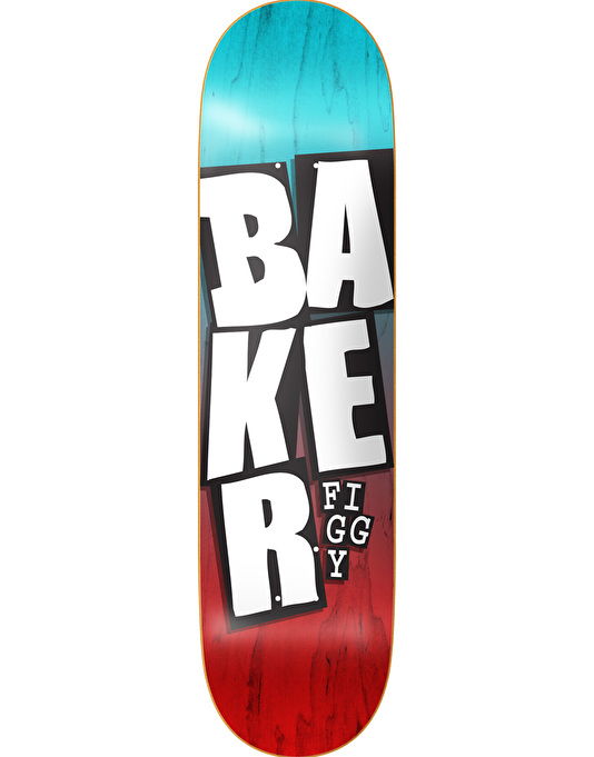 """Baker Figgy Stacked Name Pro Deck - 8.25"""""""