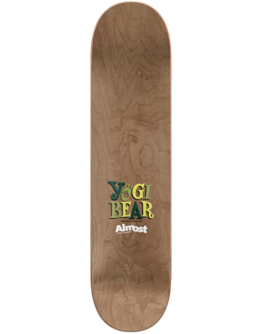 Almost x Hanna-Barbera Cooper Yogi Bear Skateboard Deck - 8.125""