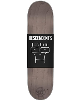 Santa Cruz x Descendents Milo Head Team Deck - 8.25