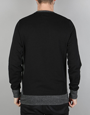 Element Alec Crew Sweatshirt - Flint Black