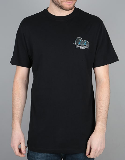 Santa Cruz Natas Panther T-Shirt - Black