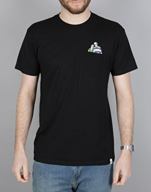 Altamont Natural Born Romance Pocket T-Shirt - Black
