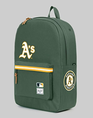 Herschel Supply Co. MLB Oakland Athletics Heritage Backpack - Forest