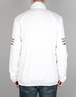 Adidas Courtside Spec Jacket - White/Energy Blue/Energy/Black