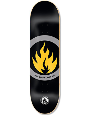 Black Label Circle Flame Limited Team Deck - 8.625