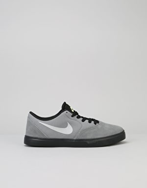 Nike SB Check Boys Skate Shoes - Cool Grey/Wolf Grey/Black