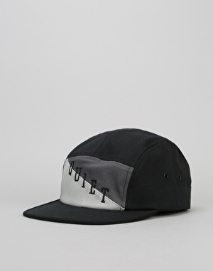 The Quiet Life Flag 5 Panel Cap - Black