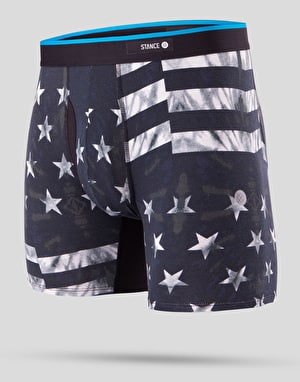 Stance Basilone Boxer Shorts - Fourth Black