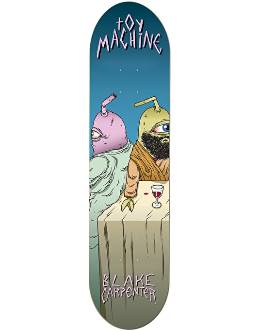 Toy Machine Carpenter Last Supper Skateboard Deck - 8""