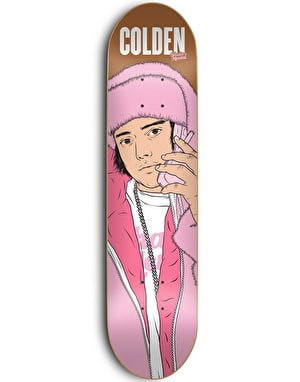 Skate Mental Colden All Pink Everything Pro Deck - 8.06