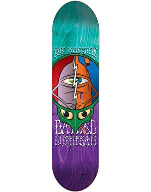 Toy Machine Lutheran Tie Dye Turtlehead Skateboard Deck - 8