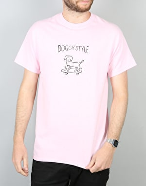 Route One Doggy Style T-Shirt - Light Pink