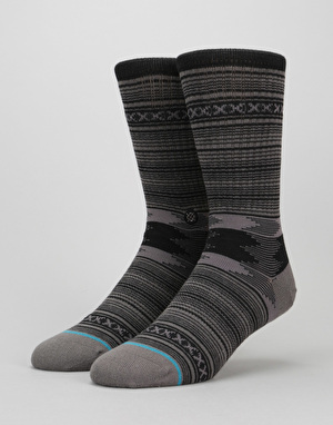 Stance Guadalupe Classic Light Socks - Charcoal