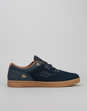 Emerica Westgate CC Skate Shoes - Navy/Gum