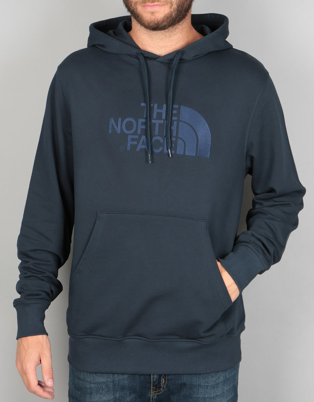 The North Face Light Drew Peak Pullover Hoodie - Urban Navy | Skate Pullover Hoodies | Mens ...