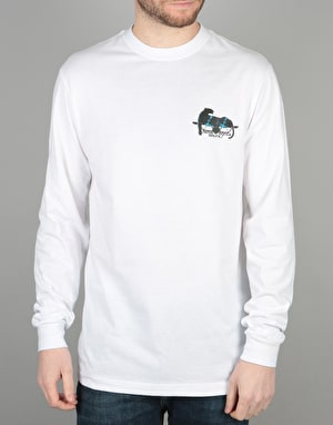 Santa Cruz Natas Panther Long Sleeve T-Shirt - White