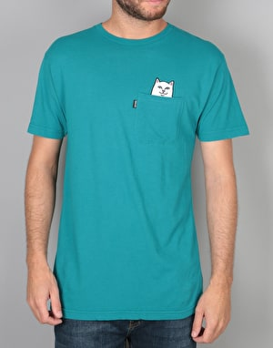 RIPNDIP Lord Nermal Pocket T-Shirt - Turquoise