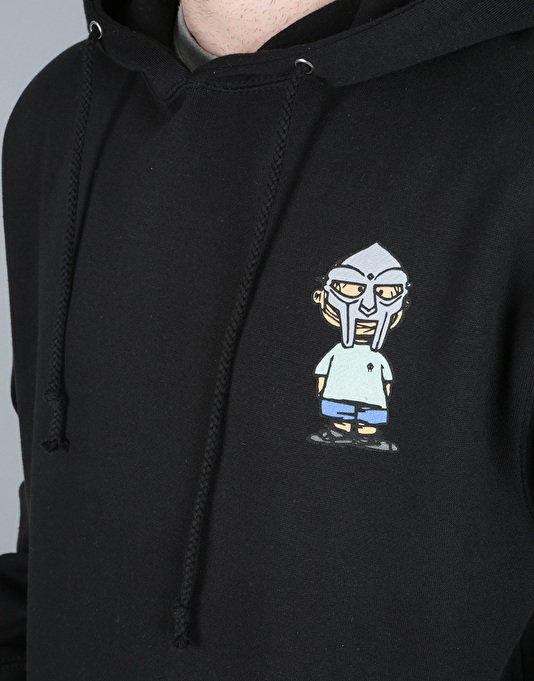 The Hundreds x MF Doom Villy Pullover Hoodie - Black