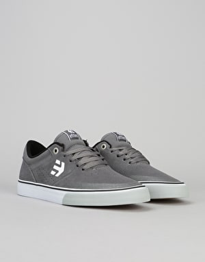 Etnies Marana Vulc Skate Shoes - Grey/Black/White