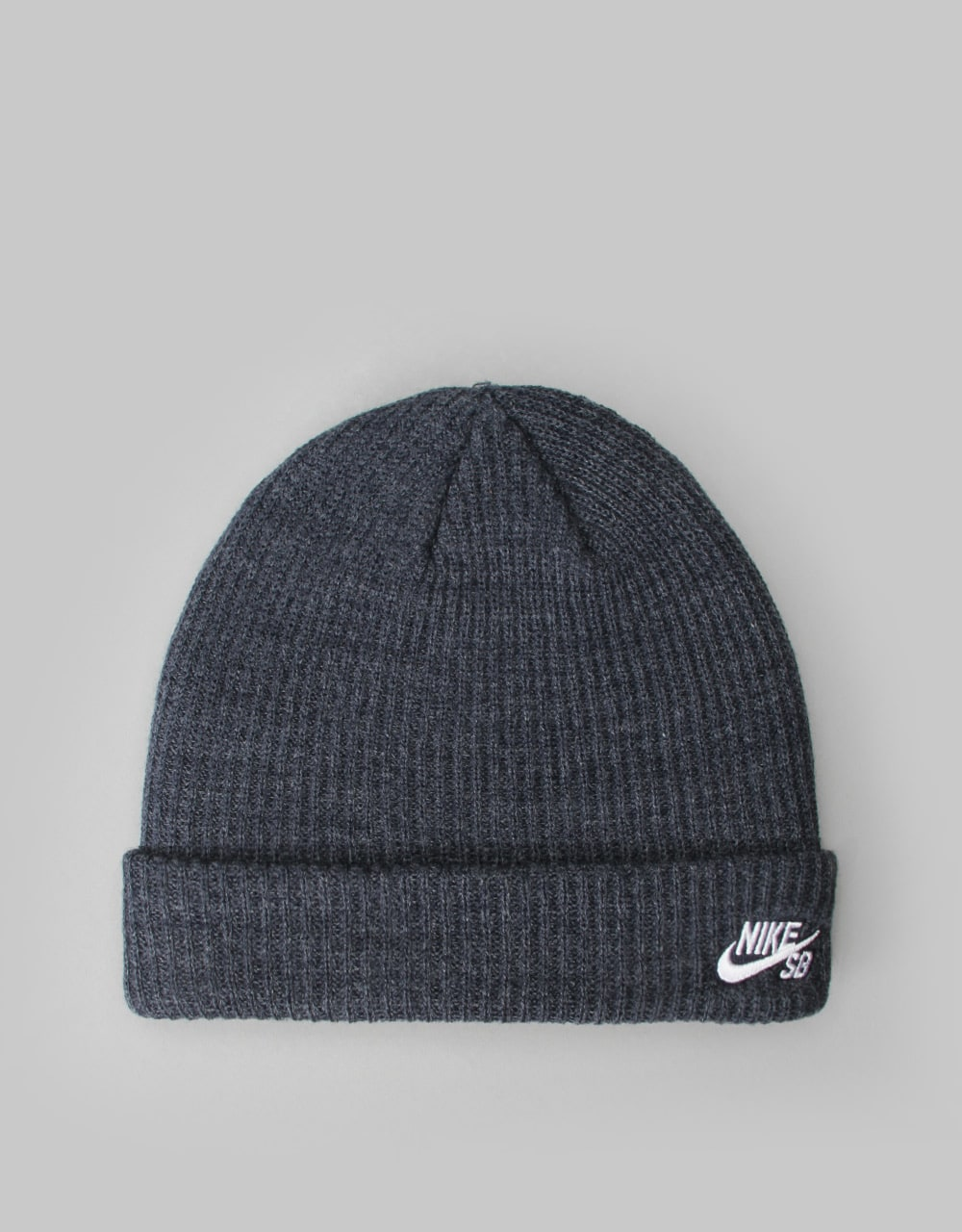 d942c5d4efe Nike SB Fisherman Cuff Beanie - Obsidian Heather White