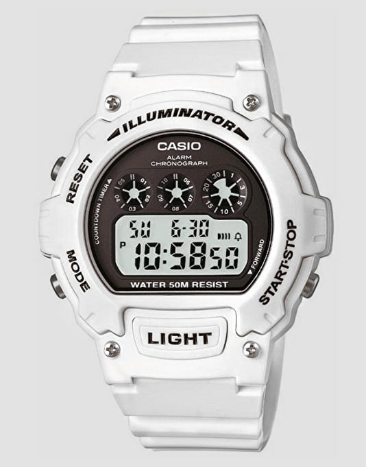 Casio W-214HC-7AVEF - White