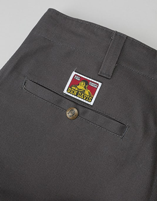 Ben Davis Original Bens Work Pants - Charcoal
