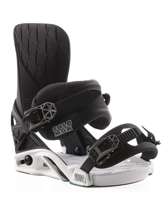 Salomon District 2017 Snowboard Bindings - Deco