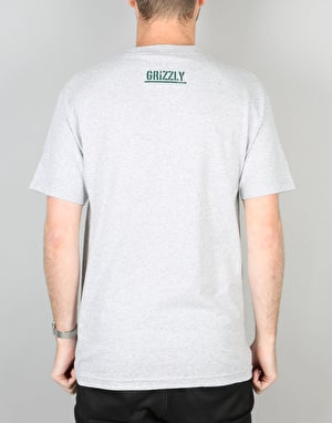 Grizzly Top Team T-Shirt - Heather Grey