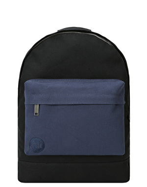 Mi-Pac Canvas Tonal Backpack - Black/Navy