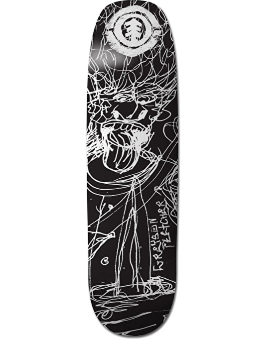 Element x J. Jessee Greyson JJ Sketch Featherlight Pro Deck - 8.625""