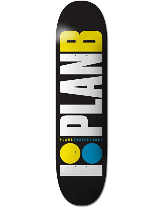Plan B OG Neon Team Deck - 7.75""