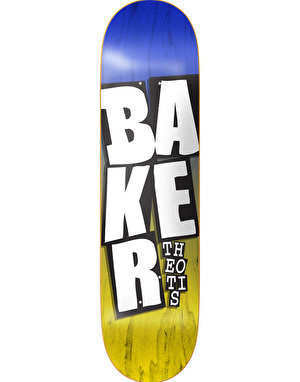 Baker Theotis Stacked Name Pro Deck - 8.375