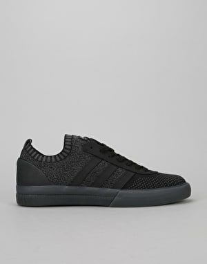 Adidas Lucas Premiere Prime Knit Skate Shoes - Black/Black/Solid Grey