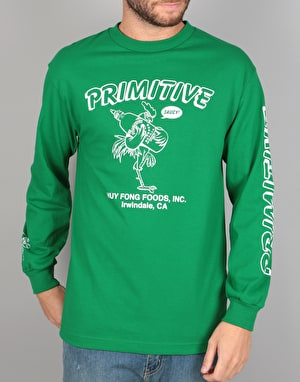 Primitive x Huy Fong Saucy L/S T-Shirt - Green