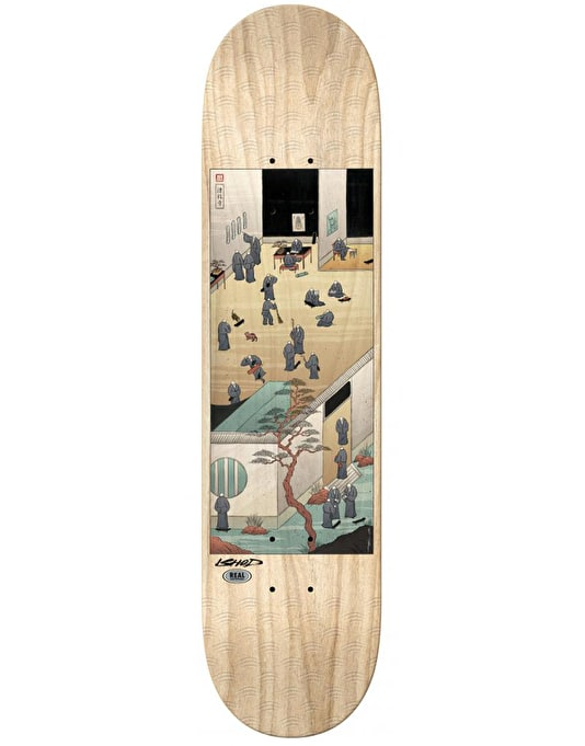 Real x Mister Tucks Ishod Temple of Skate Pro Deck - 8.12""