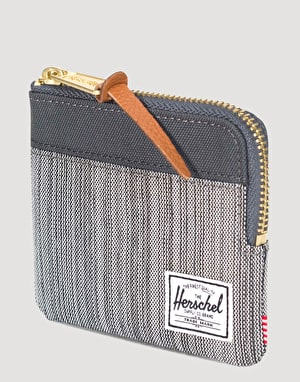 Herschel Supply Co. Johnny Wallet - Multi Crosshatch/Dark Shadow