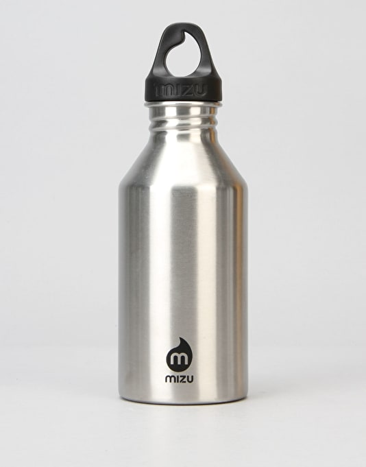 MIZU M6 Stainless 600ml/20oz Water Bottle - Stainless/Black